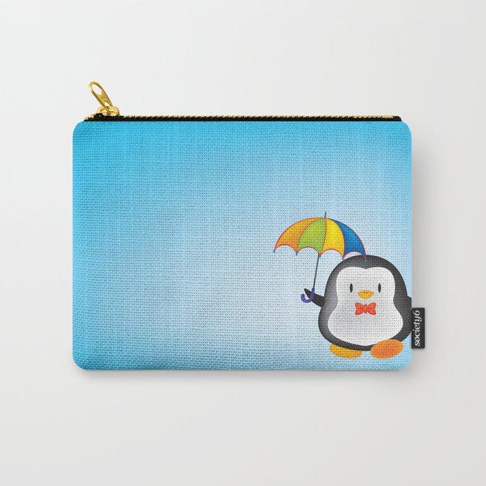 umbrella penguin Carry-All Pouch