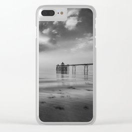 Clevedon Pier Clear iPhone Case