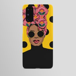 Black Beauty Android Case