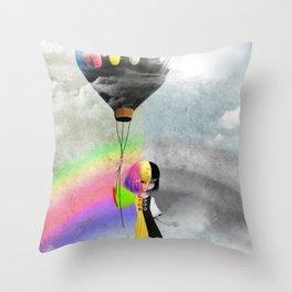 Causing A Stir Throw Pillow
