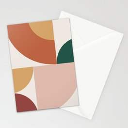 Abstract Geometric 13 Stationery Cards