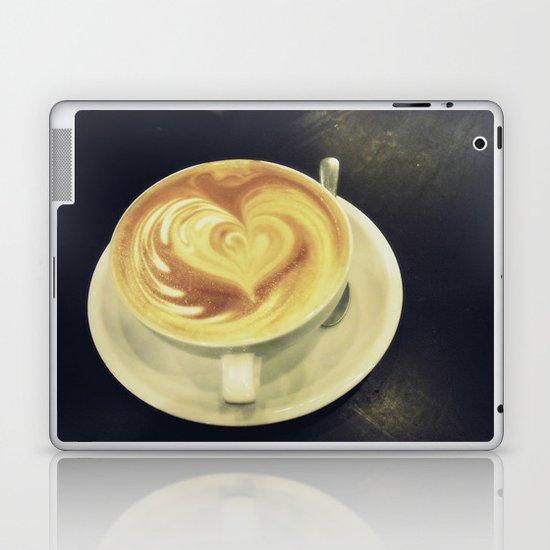 Latte Love ~ coffee Laptop & iPad Skin