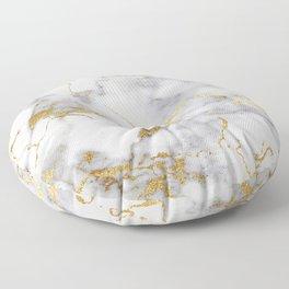 Italian gold marble Floor Pillow