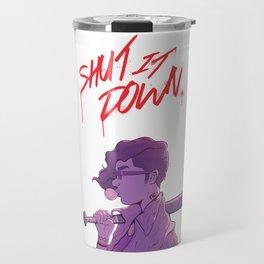 Shut It Down Travel Mug