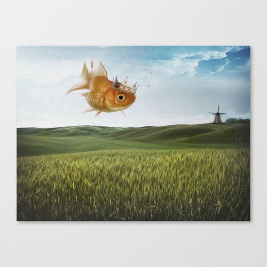 king fish Canvas Print