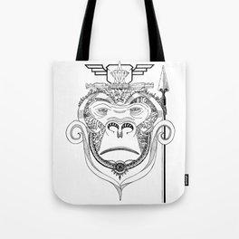 GORILLA SUPREMACY - BLACK & WHITE Tote Bag