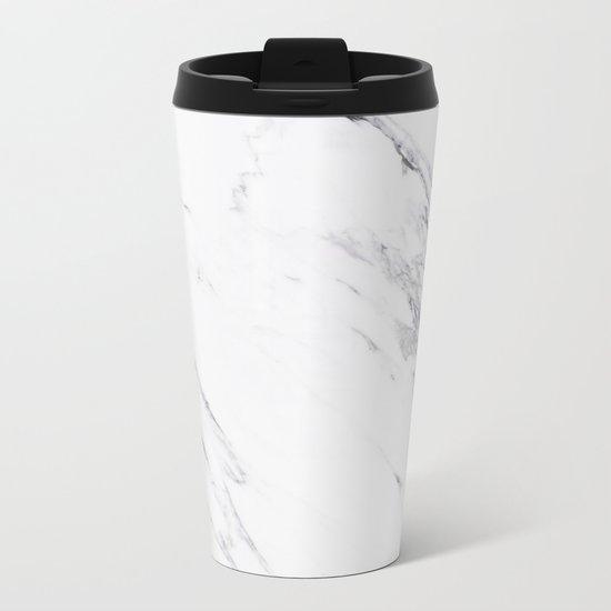 Marble - Classic Real Marble Metal Travel Mug