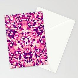 Triangle mandala 1 Stationery Cards