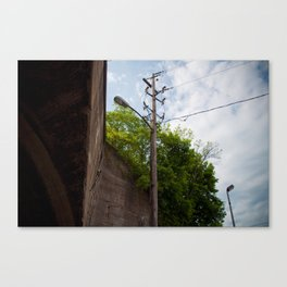Urban Street Light Canvas Print