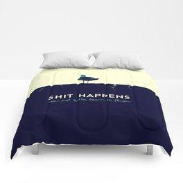 shit happens Comforters