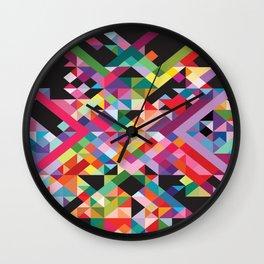 Geometric Kaos Wall Clock