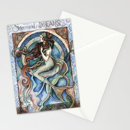Mermaid Dreams. Stationery Cards