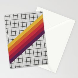 Old Video Cassette Palette III Stationery Cards