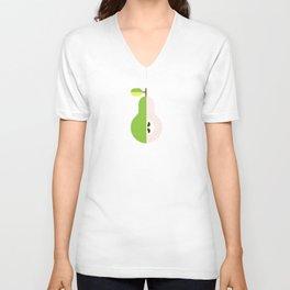 Fruit: Pear Unisex V-Neck