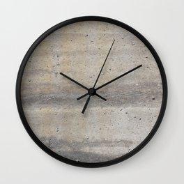 Concrete Wall Clock
