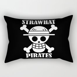 straw hat pirates Rectangular Pillow