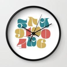 Numerals Wall Clock