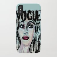 vogue iPhone & iPod Cases featuring Vogue by Kayla Bortolotto