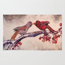 Kissing Cardinals Rug