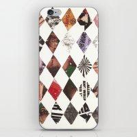 diamonds iPhone & iPod Skins featuring DIAMONDS by Brandon Neher