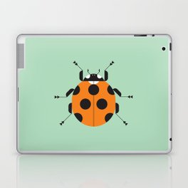 Lady Bug Green Laptop & iPad Skin