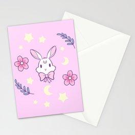 Sakura Bunny // Pink Stationery Cards