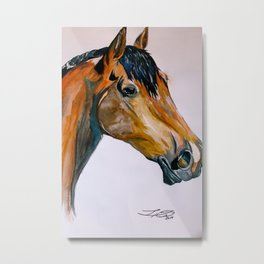 Ulysses RDA Horse Metal Print