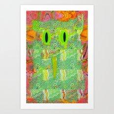 Owl-ish Art Print