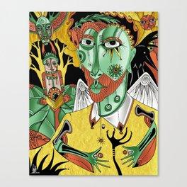 self crow Canvas Print