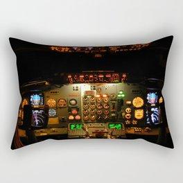Airliner Flight Deck Rectangular Pillow