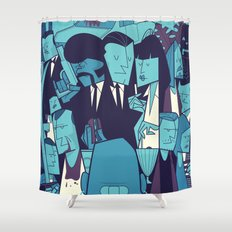 Royal with Cheese (variant) Shower Curtain