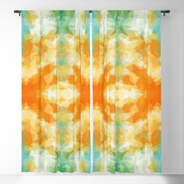 """""""Poncho mood"""" triangles design Blackout Curtain"""