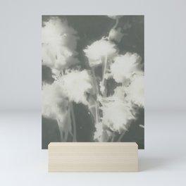 Gray Dahlias Mini Art Print