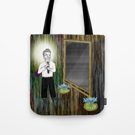 The Empty Mirror Tote Bag