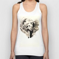 tokyo ghoul Tank Tops featuring Ghoul by C A R E Y  M O R T O N