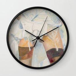 dessous dessus Wall Clock