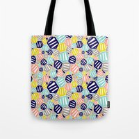 hexagon Tote Bags featuring Hexagon by Rachel Westhead