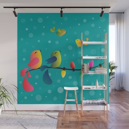 Fly High, My Babies - Merry Christmas Wall Mural