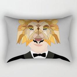 lion man Rectangular Pillow