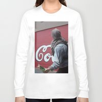 coca cola Long Sleeve T-shirts featuring Coca Cola Wars by Vin Zzep