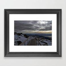 The Summit Framed Art Print
