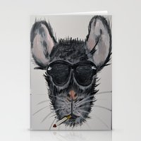 kevin russ Stationery Cards featuring Kevin by Evan