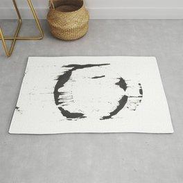 Ink Circle (8.24) Rug