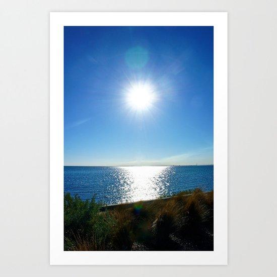 Solitaire Sky Art Print