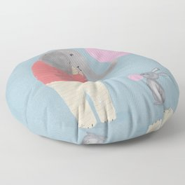bubble fun Floor Pillow
