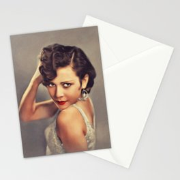 Marion Byron, Vintage Actress Stationery Cards