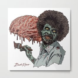The Joy of Brains Metal Print