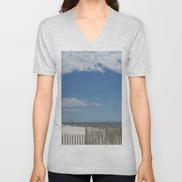 Long Island Beach Unisex V-Neck