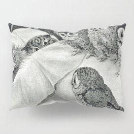 Louis Wain Cat Nightmare Owl Bird Pillow Sham