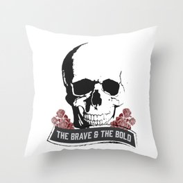 The Brave & The Bold Throw Pillow